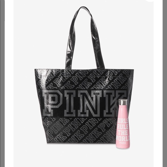PINK Victoria's Secret Handbags - PINK S'WELL WATER BOTTLE AND REUSABLE TOTE BAG